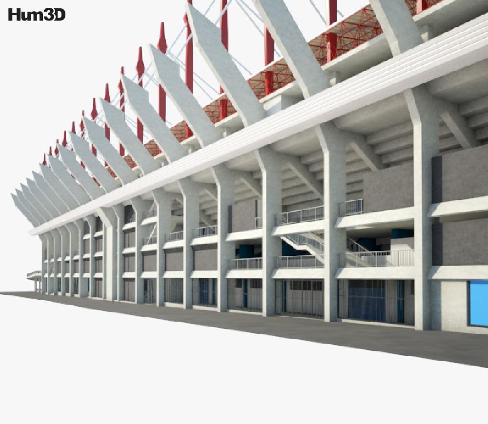 Estadio de Riazor 3d model