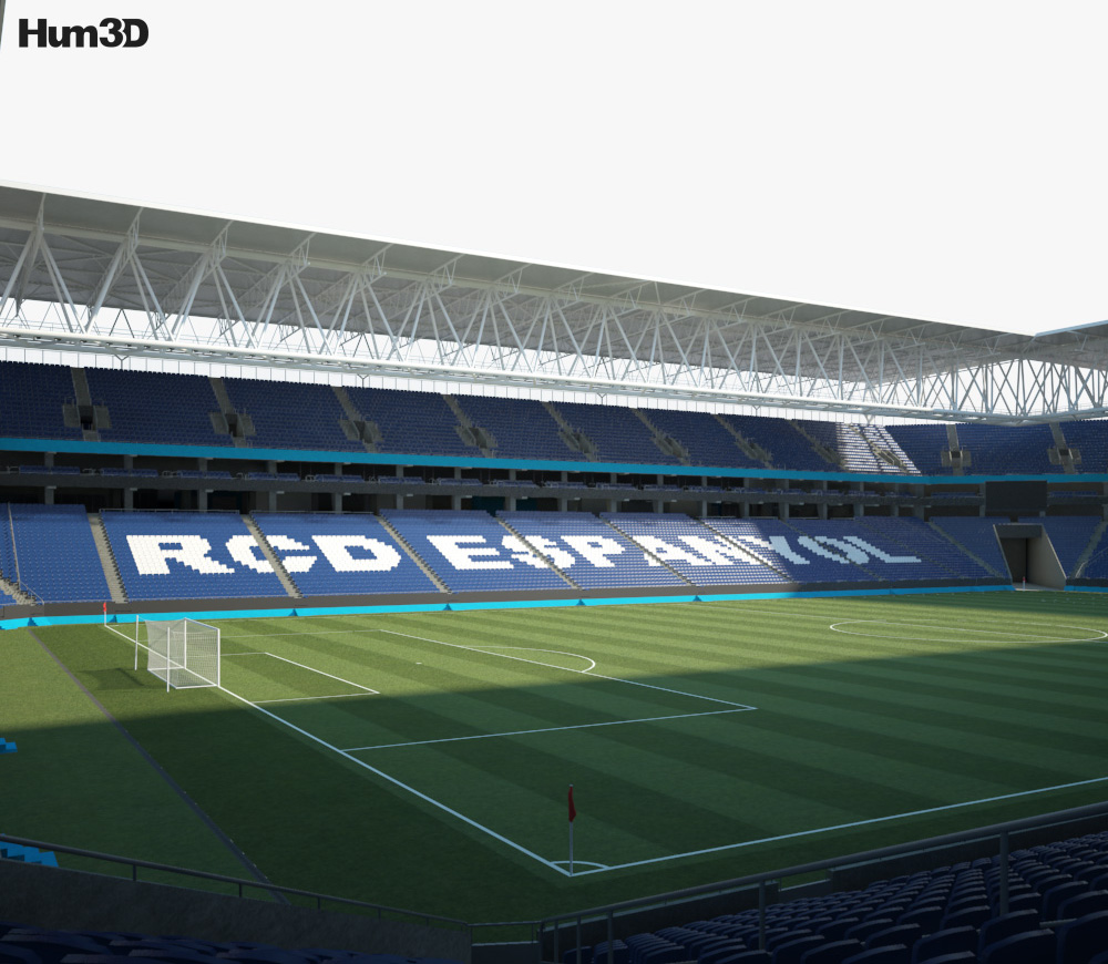 RCDE Stadium 3d model