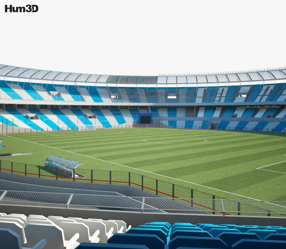 Presidente Peron Stadium 3d model