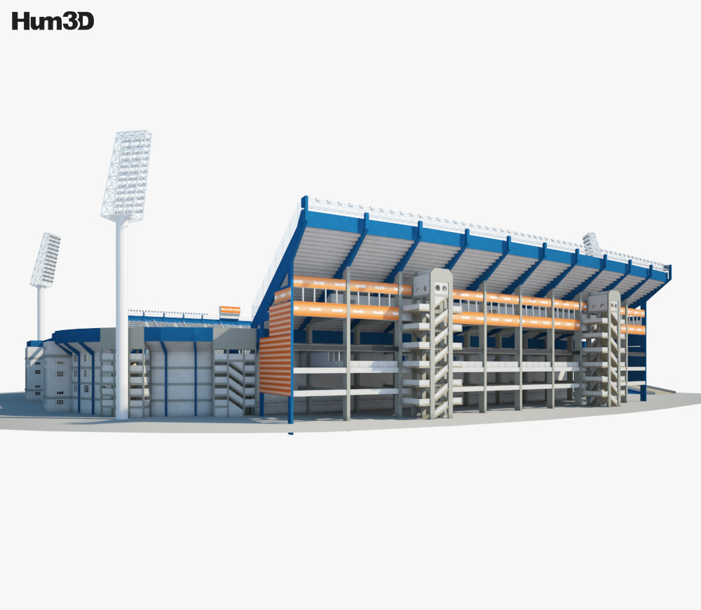 Jose Amalfitani Stadium 3d model