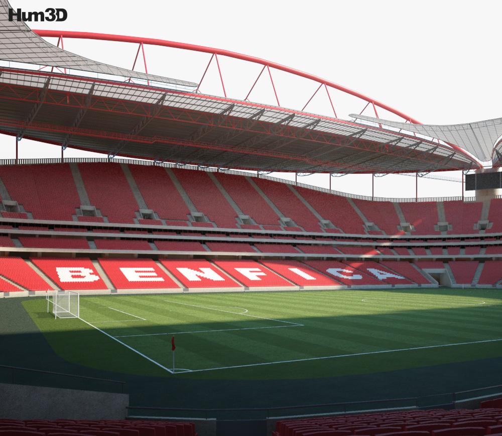 Estadio da Luz 3d model