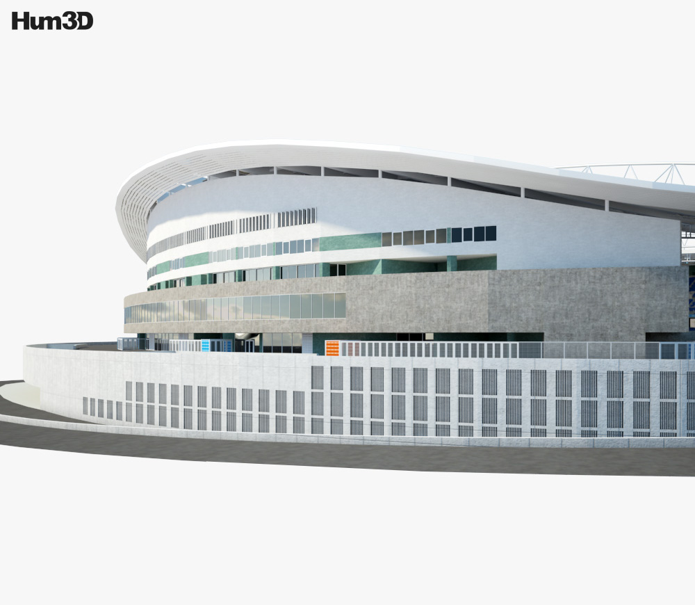 Estadio do Dragao 3d model