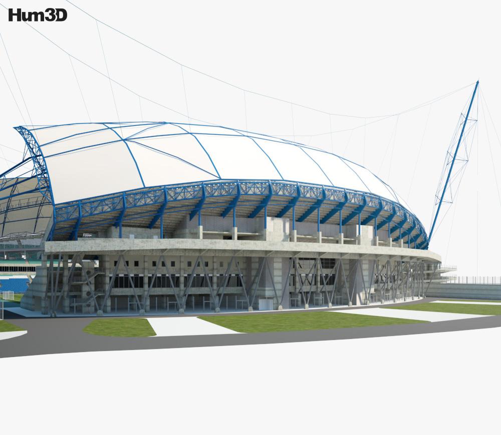 Estadio Algarve 3d model