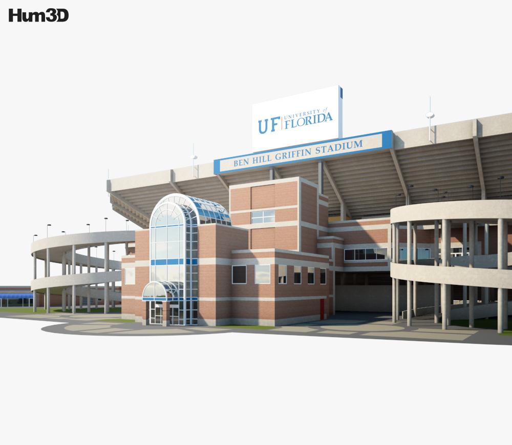 Ben Hill Griffin Stadium 3d model