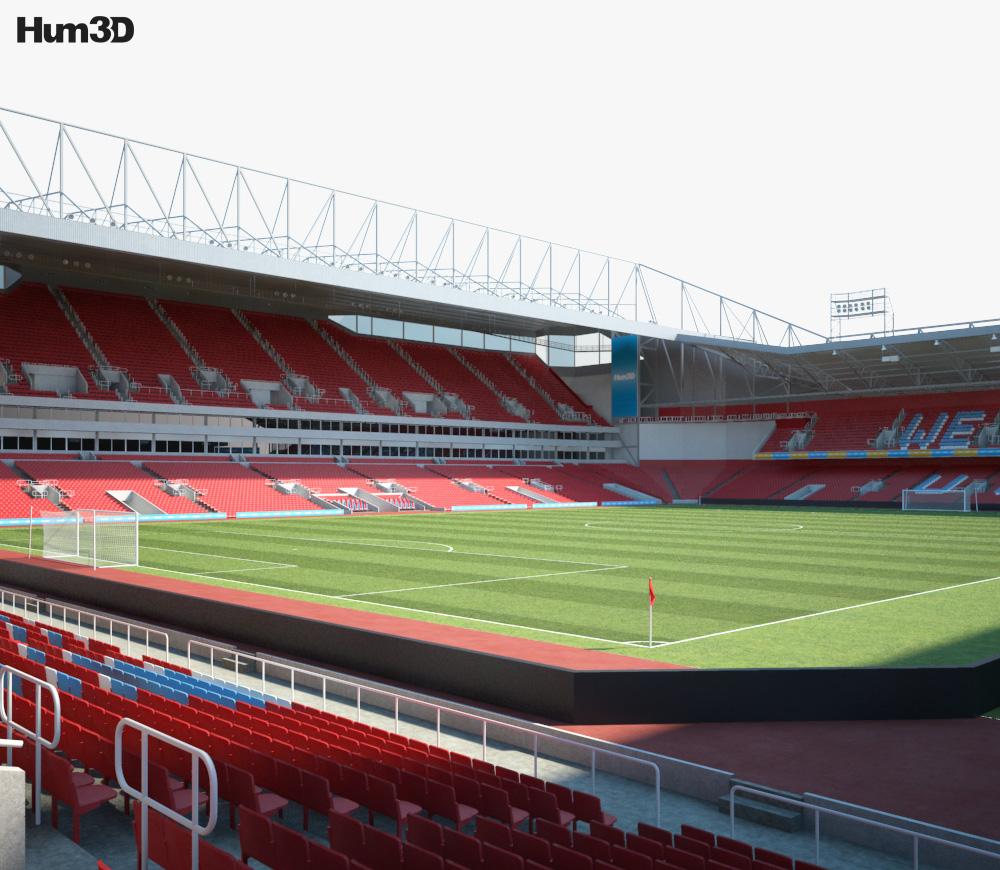 Boleyn Ground 3d model