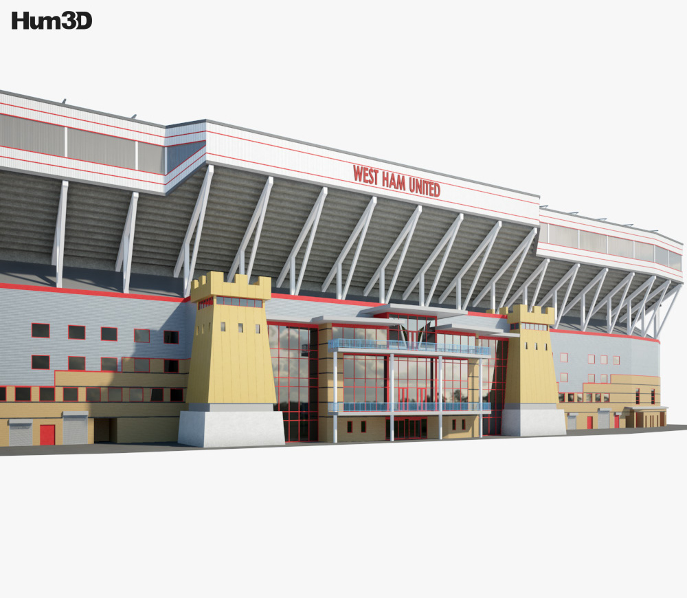 Boleyn Ground 3d model