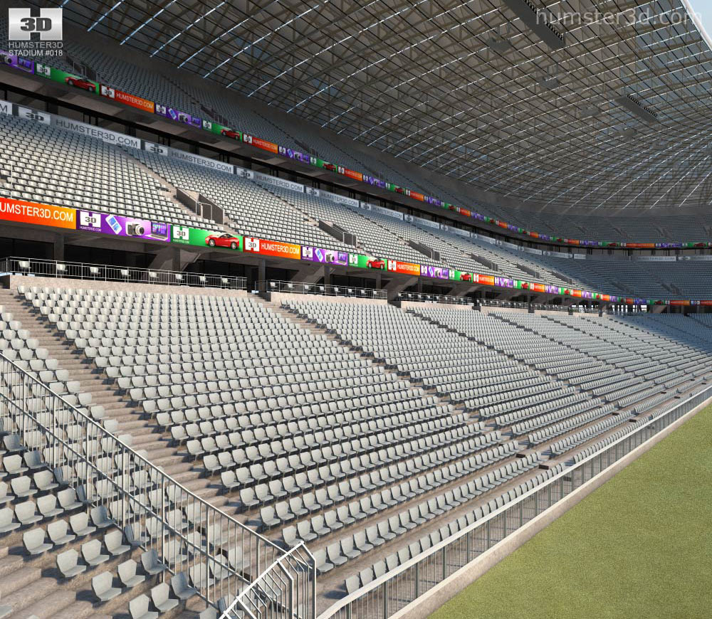 Allianz Arena 3d model