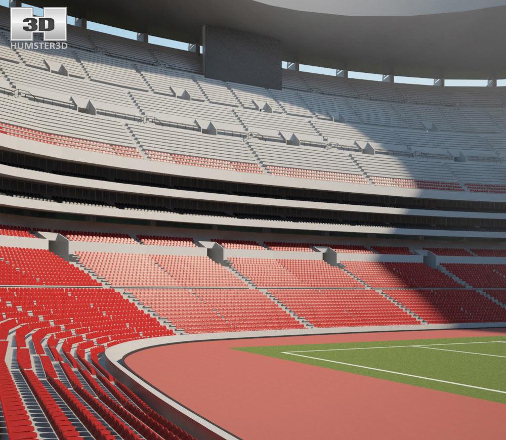 Aztec Stadium 3d model