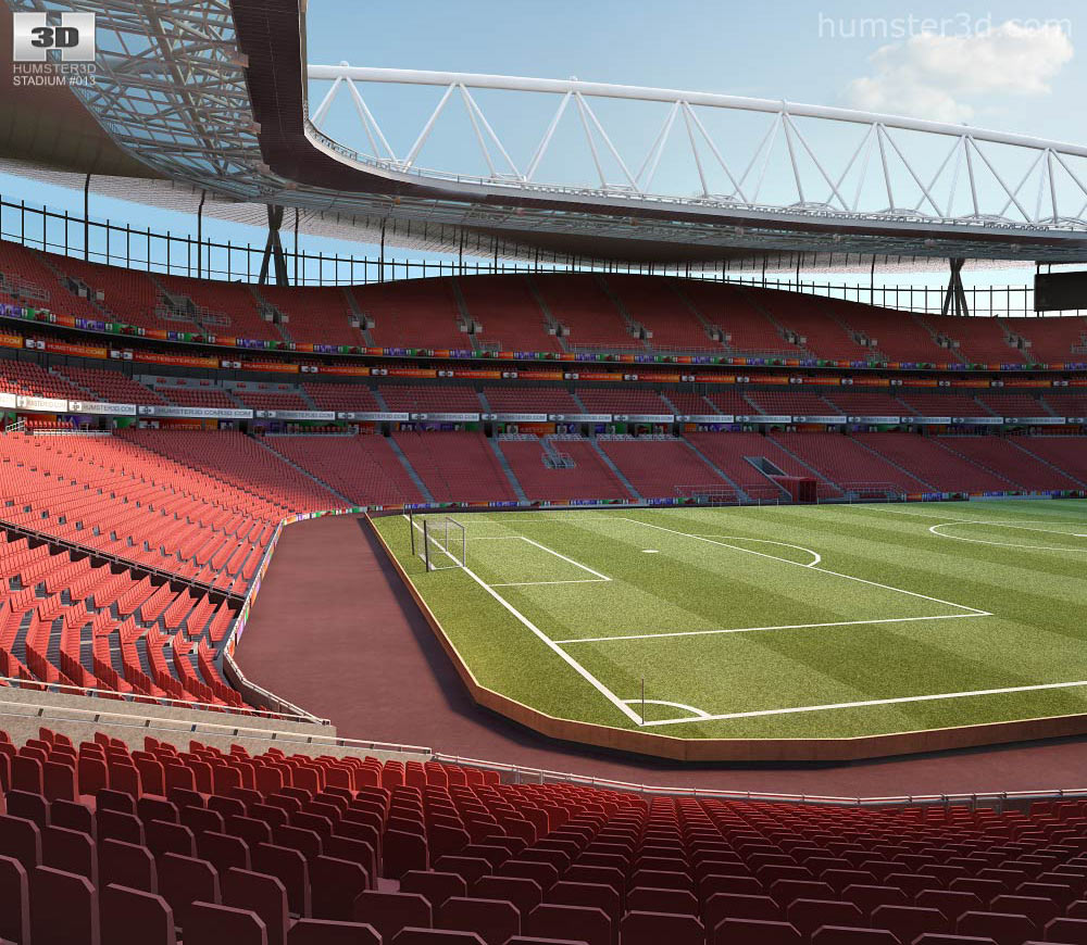 Emirates Stadium 3d model