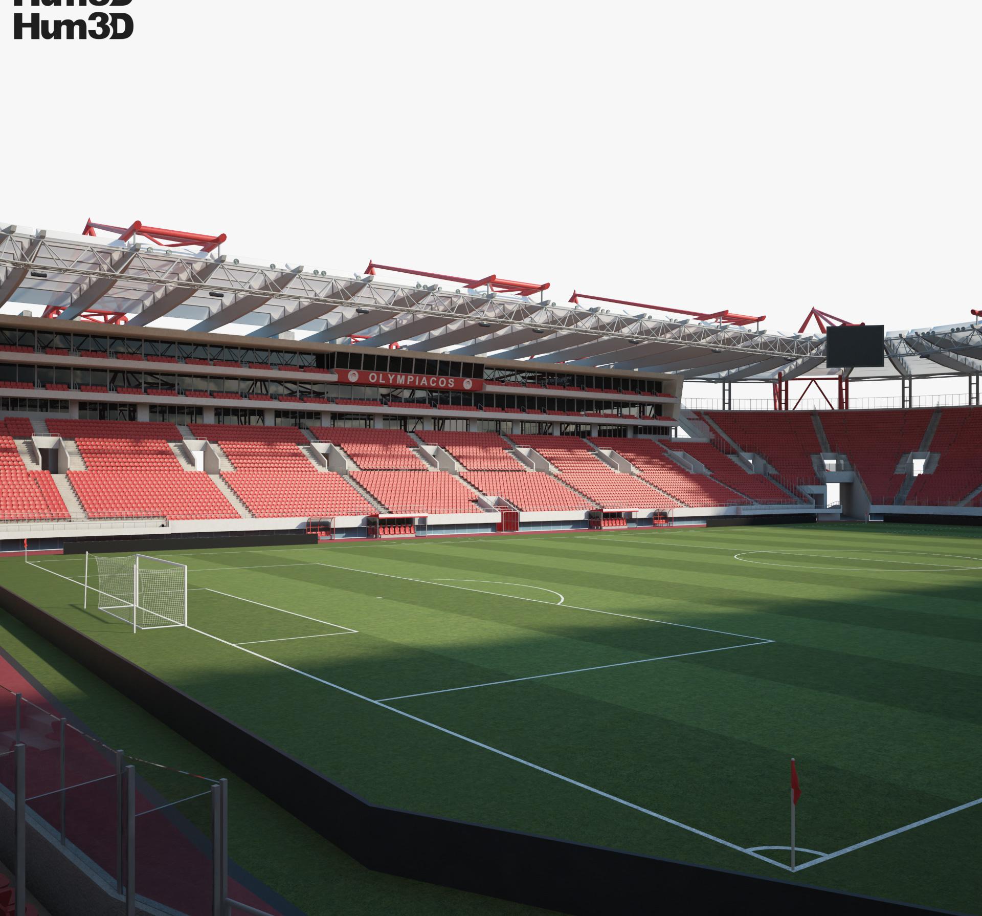 Karaiskakis Stadium 3d model