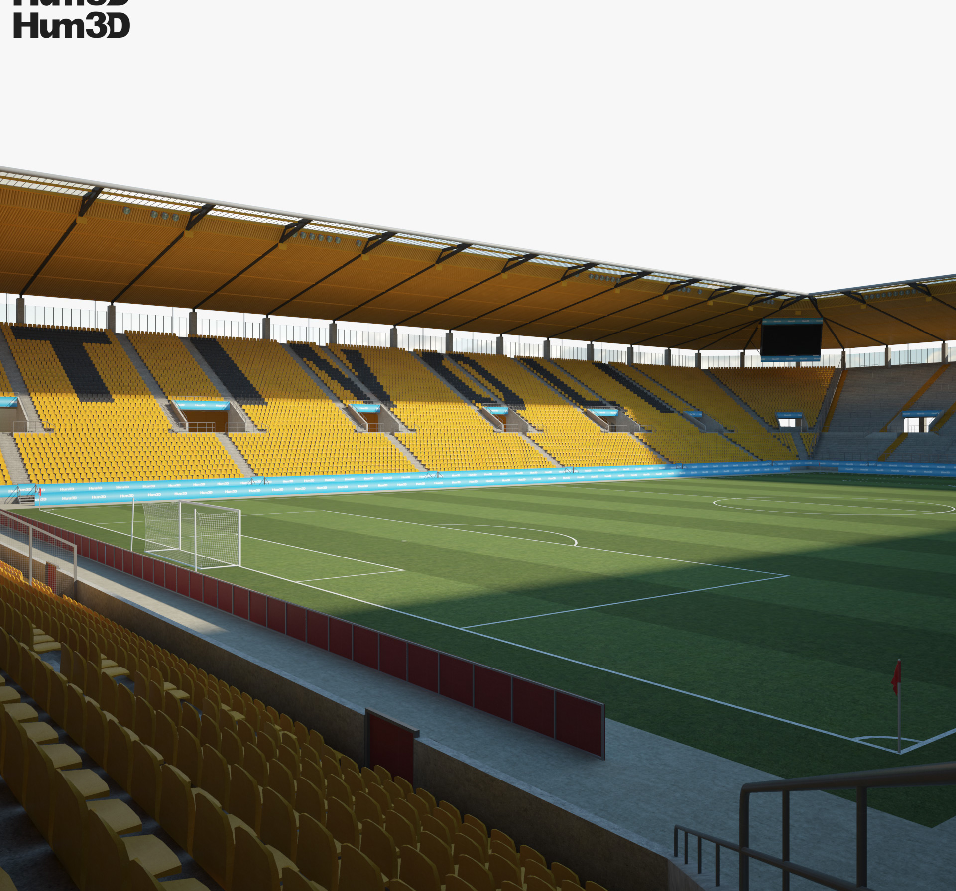 New Tivoli stadium 3d model