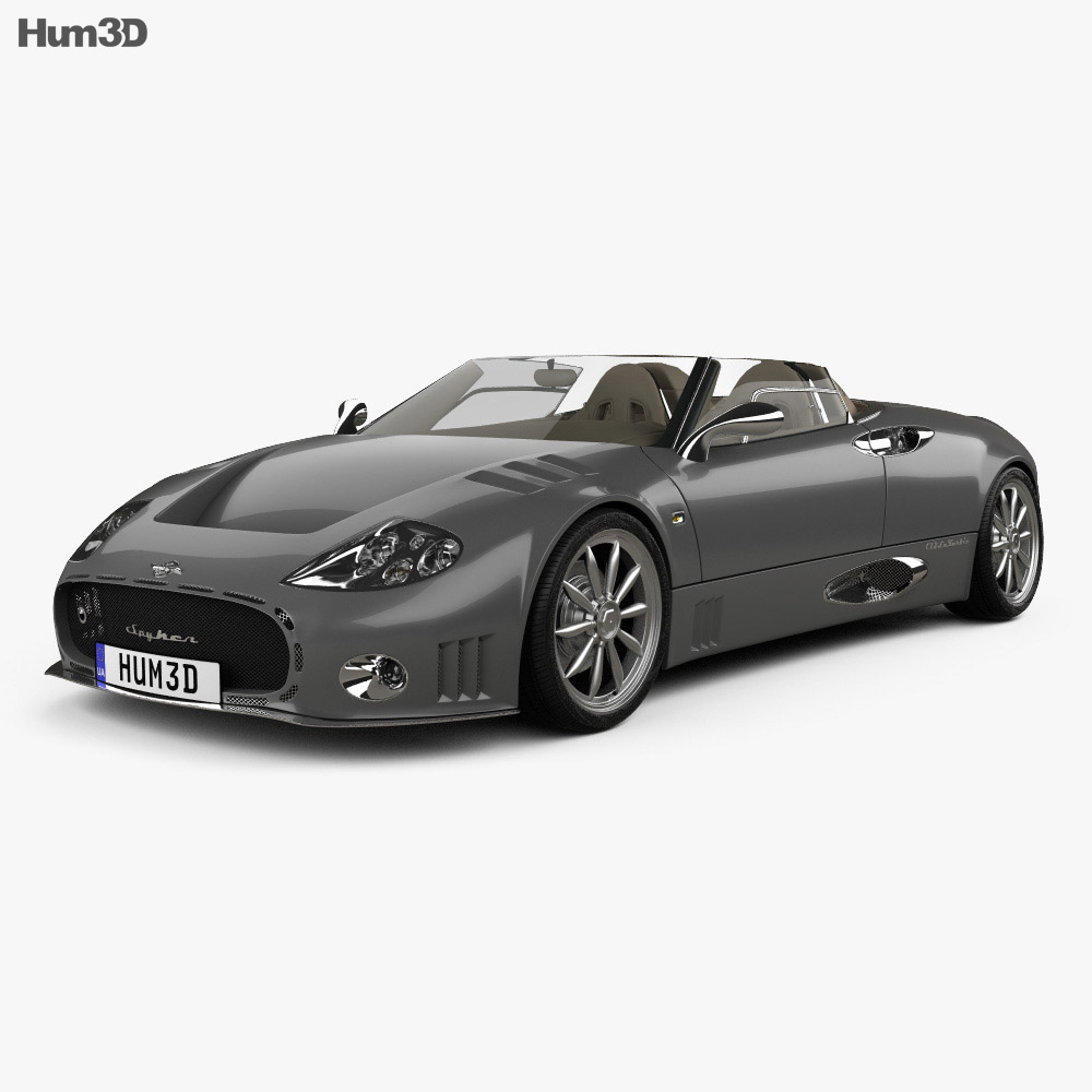 Spyker C12 La Turbie 2006 3d model