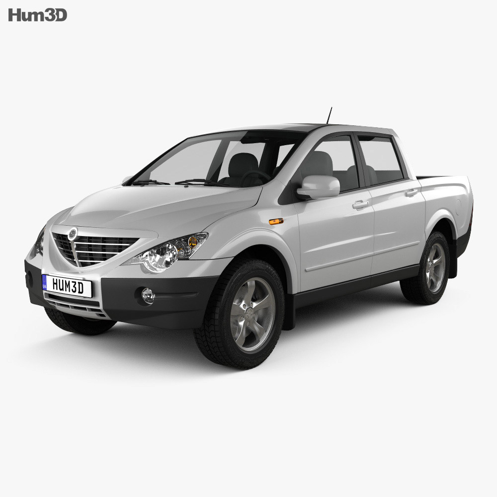 SsangYong Actyon Sports 2006 3d model