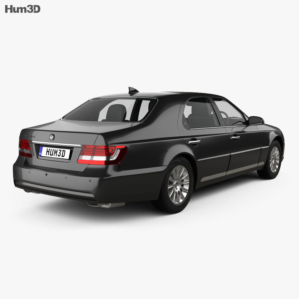 SsangYong Chairman H 2011 3d model
