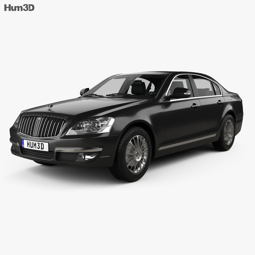 SsangYong Chairman W with HQ interior 2011 3d model