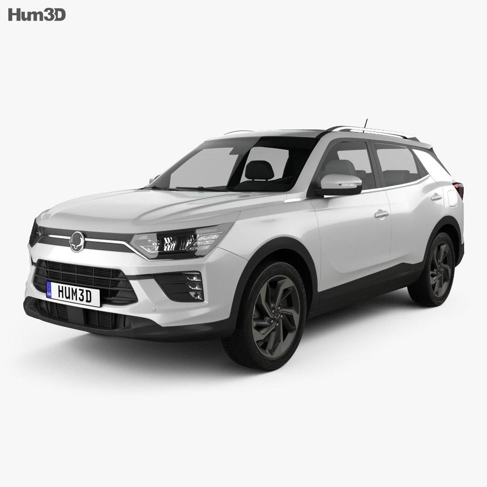 SsangYong Korando 2020 3d model
