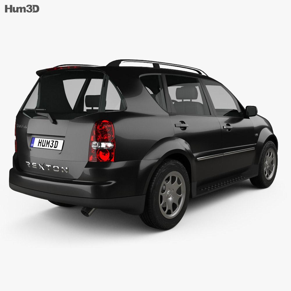 SsangYong Rexton 2001 3d model