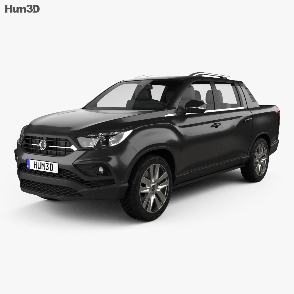 SsangYong Rexton Sports 2018 3d model