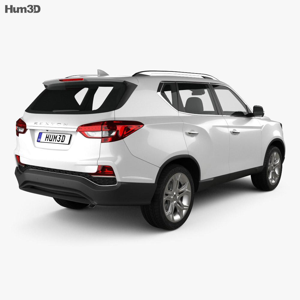 SsangYong Rexton 2018 3d model