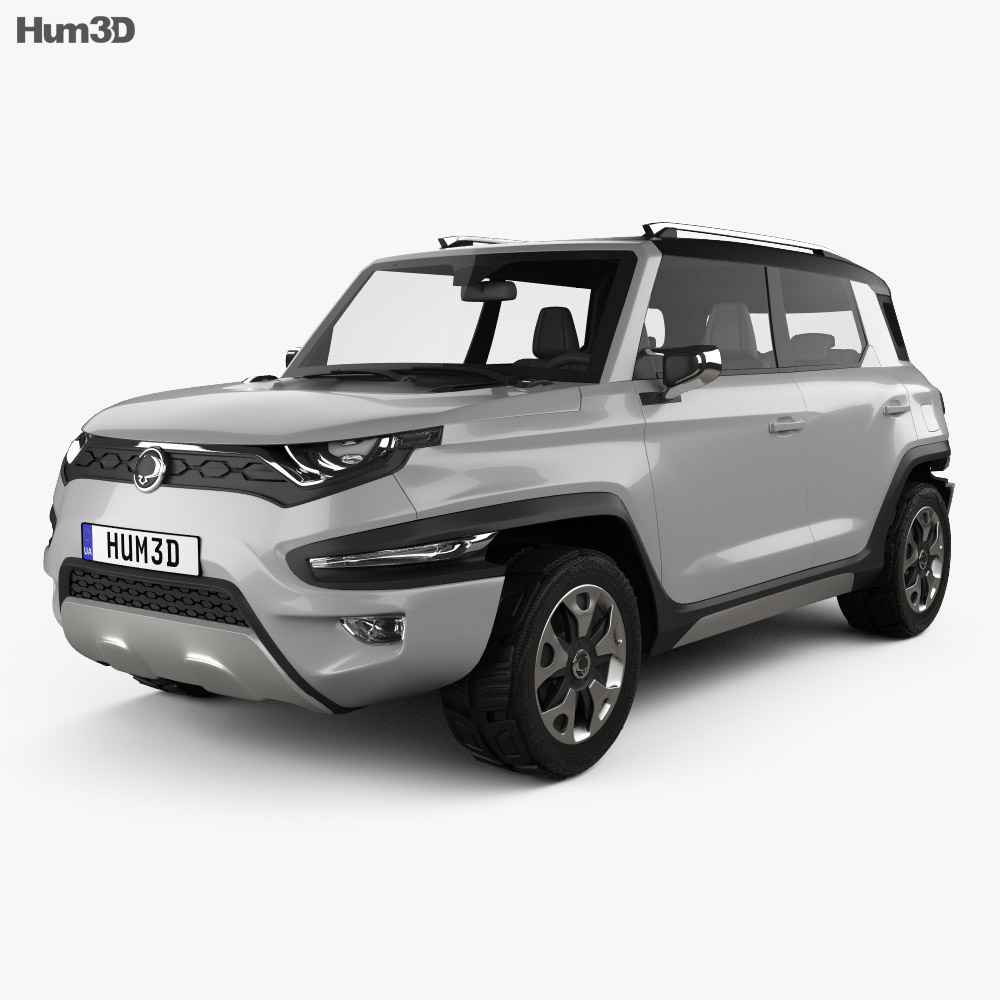 SsangYong XAV-Adventure 2015 3d model