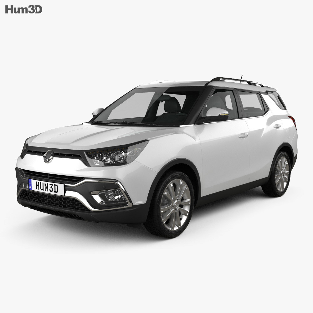 SsangYong XLV 2016 3d model