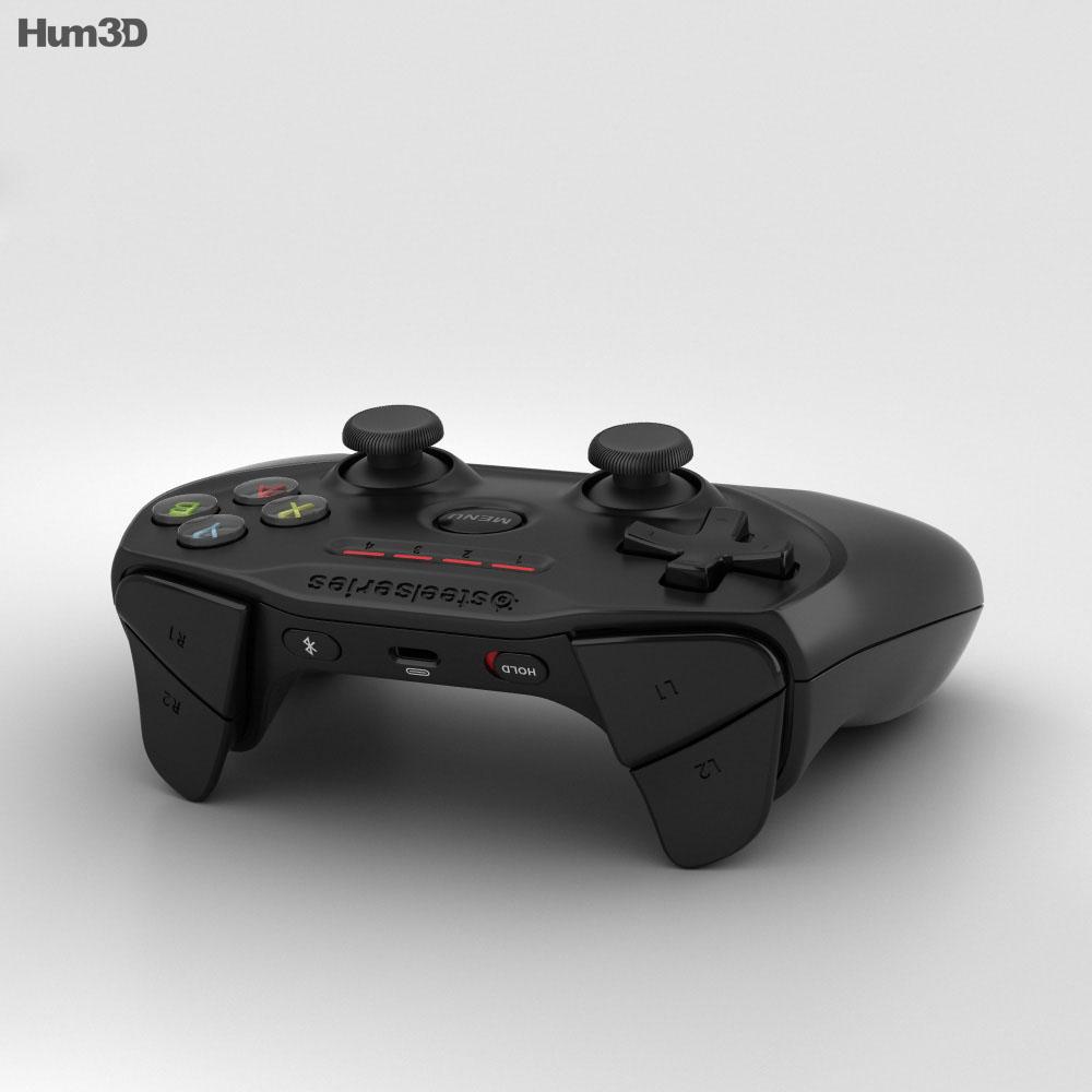 SteelSeries Nimbus Wireless Gaming Controller 3d model