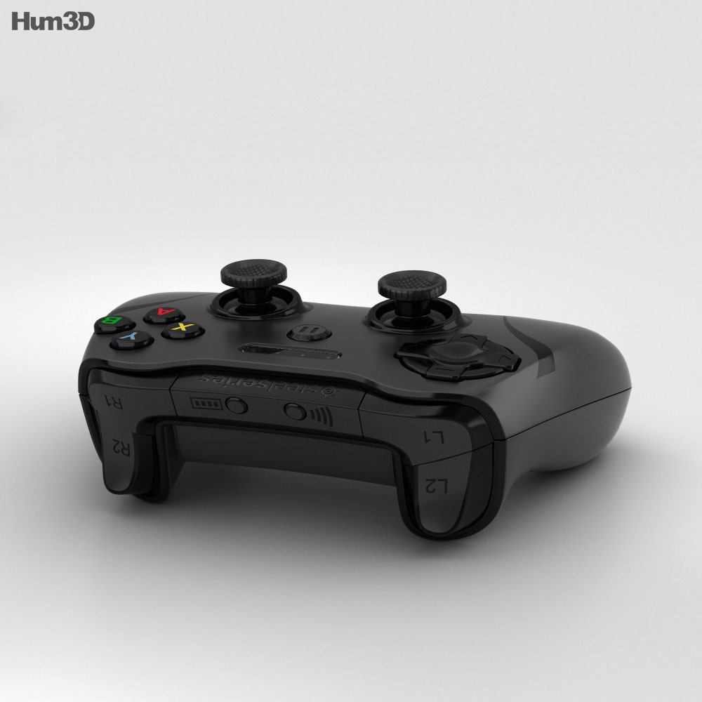 SteelSeries Stratus XL Controller 3d model