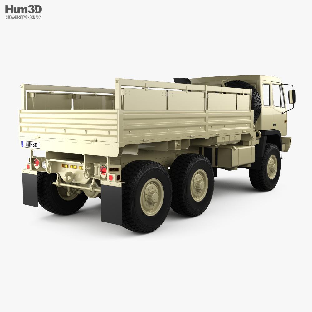 Stewart & Stevenson M1083 MTV Truck 3-axle 2019 3d model