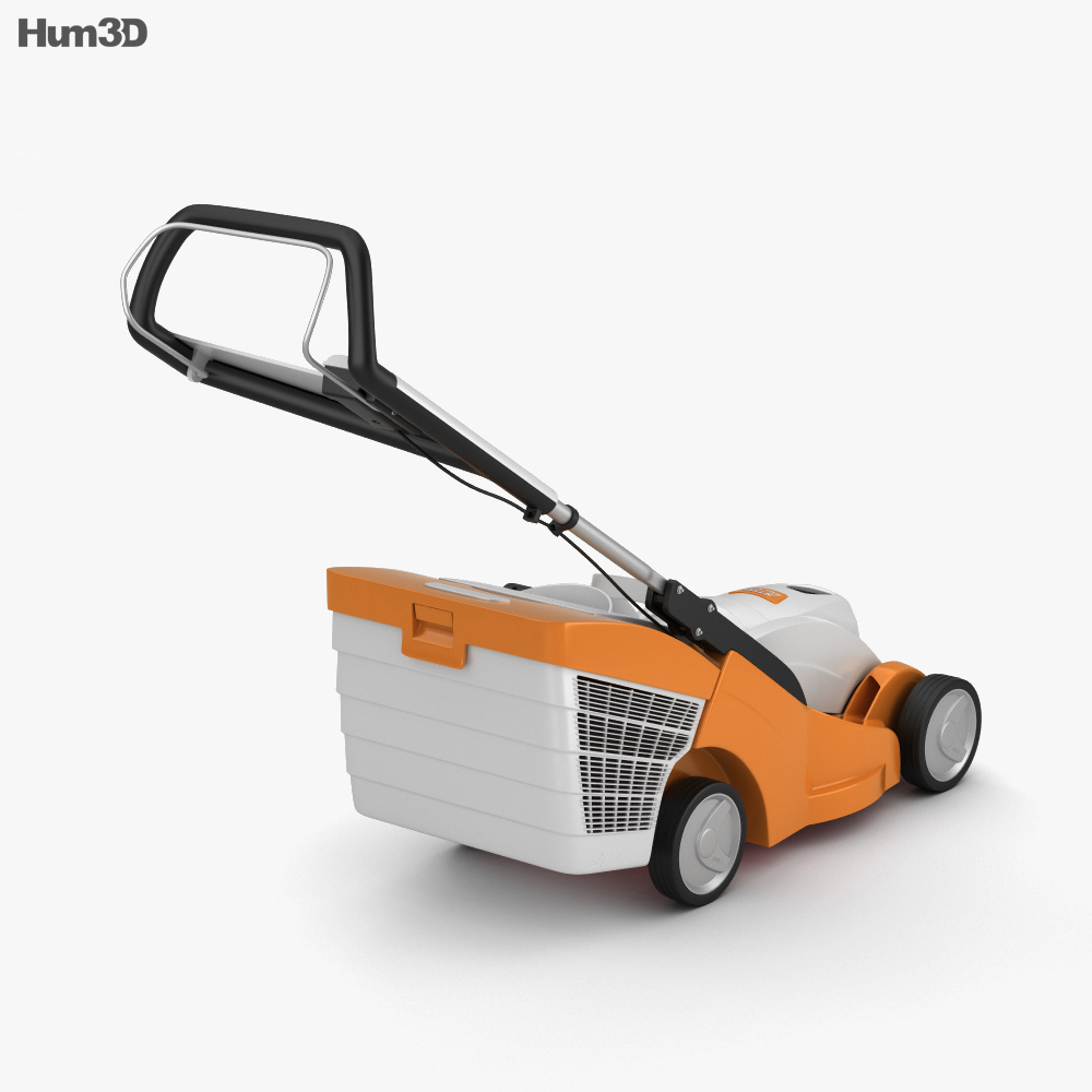 Stihl RMA 339 C Lawn mower 3d model