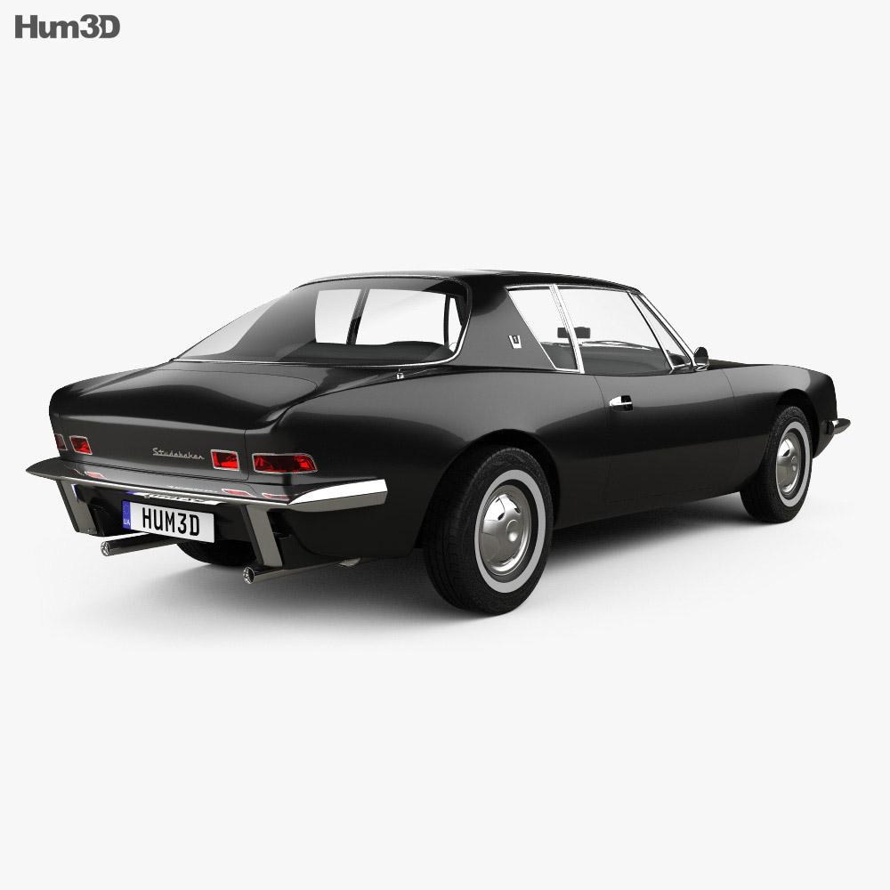 Studebaker Avanti 1962 3d model