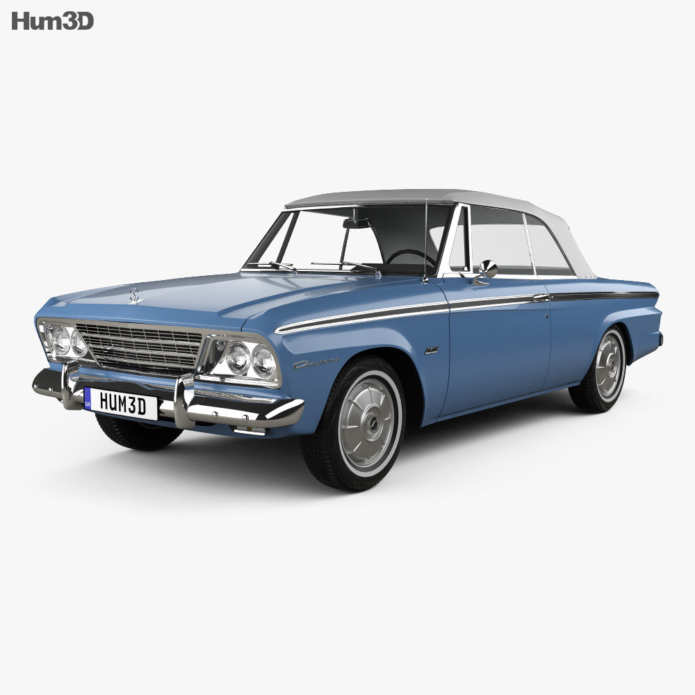 Studebaker Lark Daytona Convertible 1963 3d model