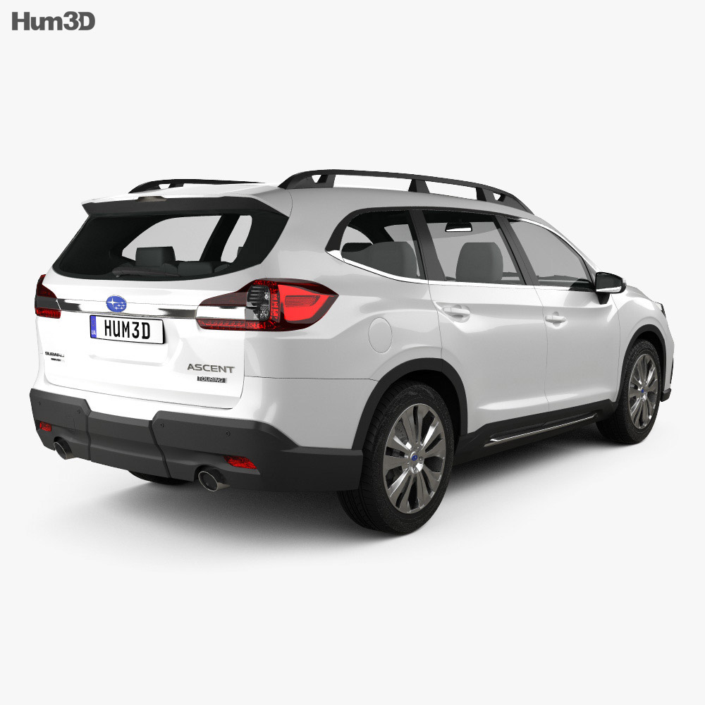 Subaru Ascent Touring 2018 3d model