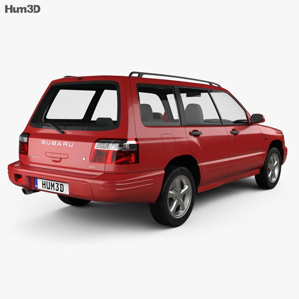 Subaru Forester S-Turbo 2000 3d model