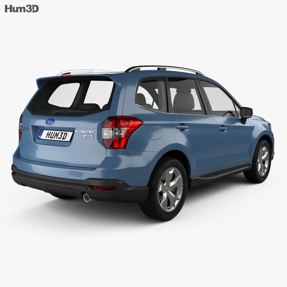 Subaru Forester XC 2014 3d model