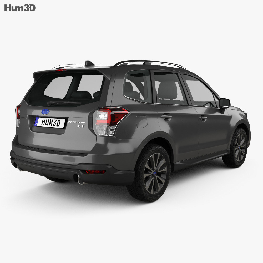 Subaru Forester XT Touring 2016 3d model