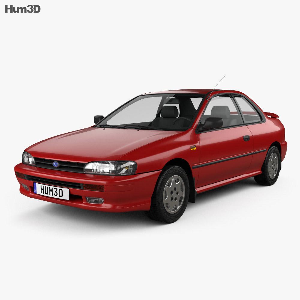 Subaru Impreza Coupe 1995 3d model
