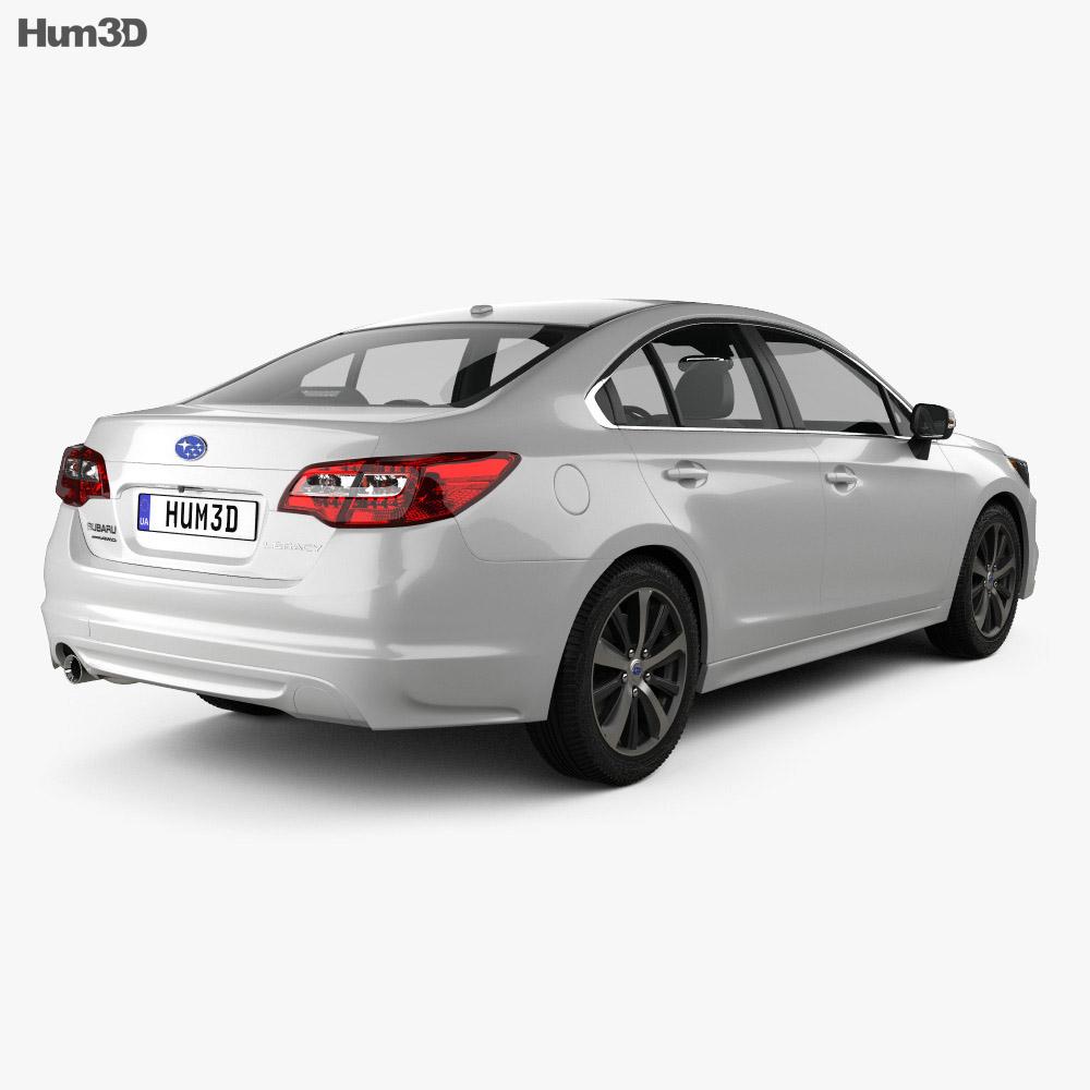 Subaru Legacy 2014 3d model