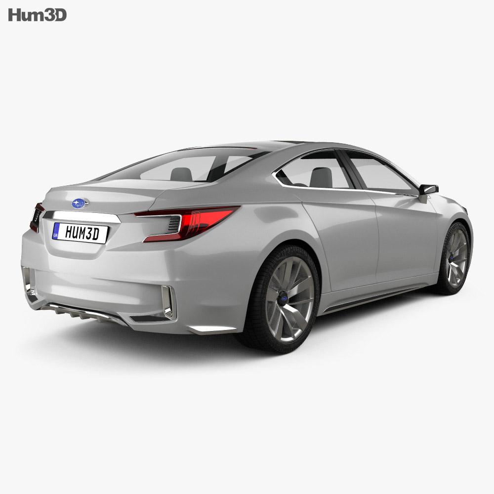 Subaru Legacy Concept 2015 3d model