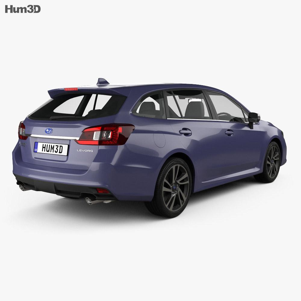 Subaru Levorg 2015 3d model
