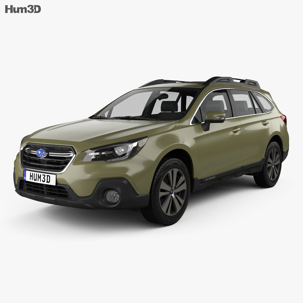 Subaru Outback US-spec 2017 3d model