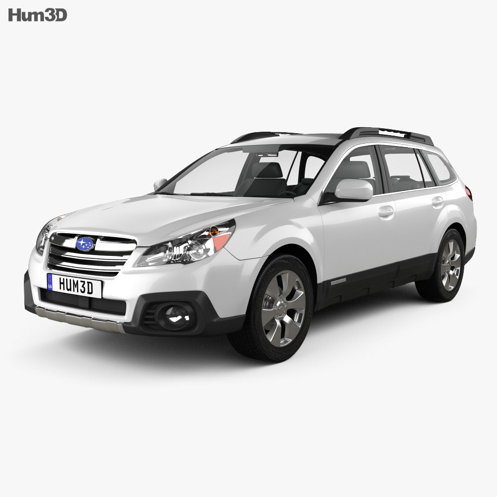 Subaru Outback limited US 2013 3d model