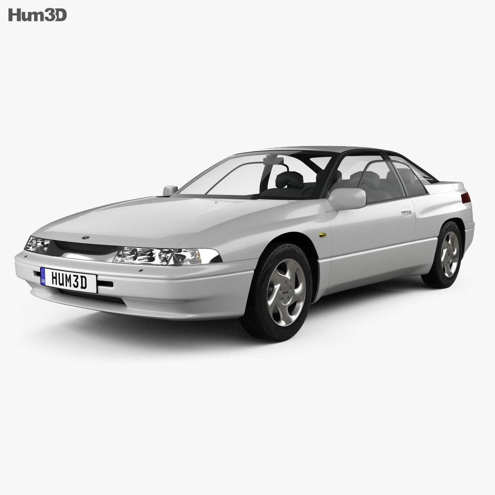 Subaru SVX 1992 3d model
