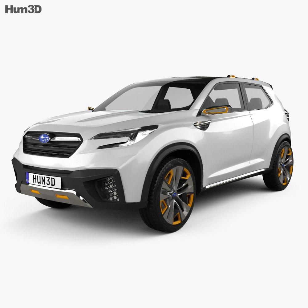 Subaru VIZIV Future 2015 3d model
