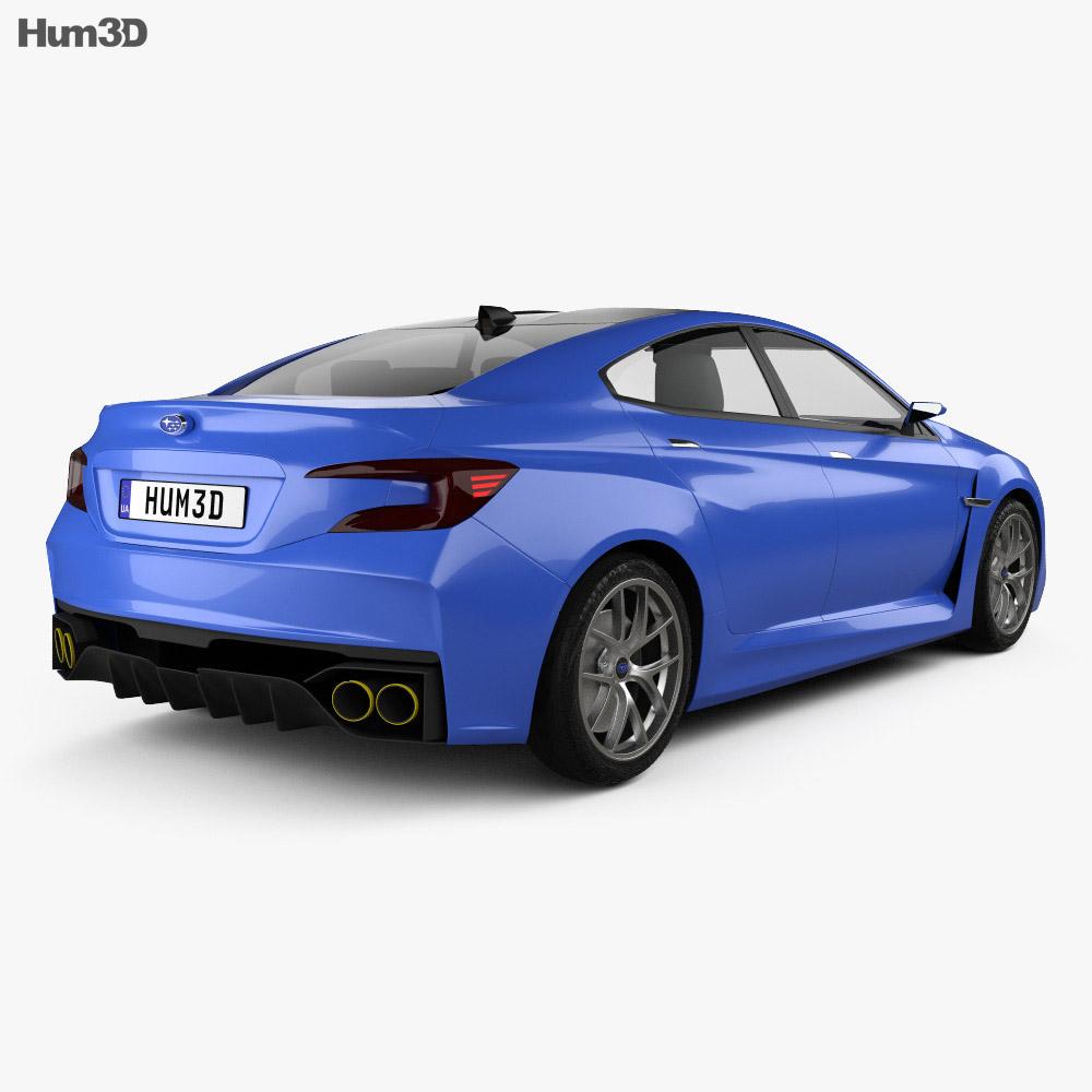 Subaru WRX concept 2013 3d model