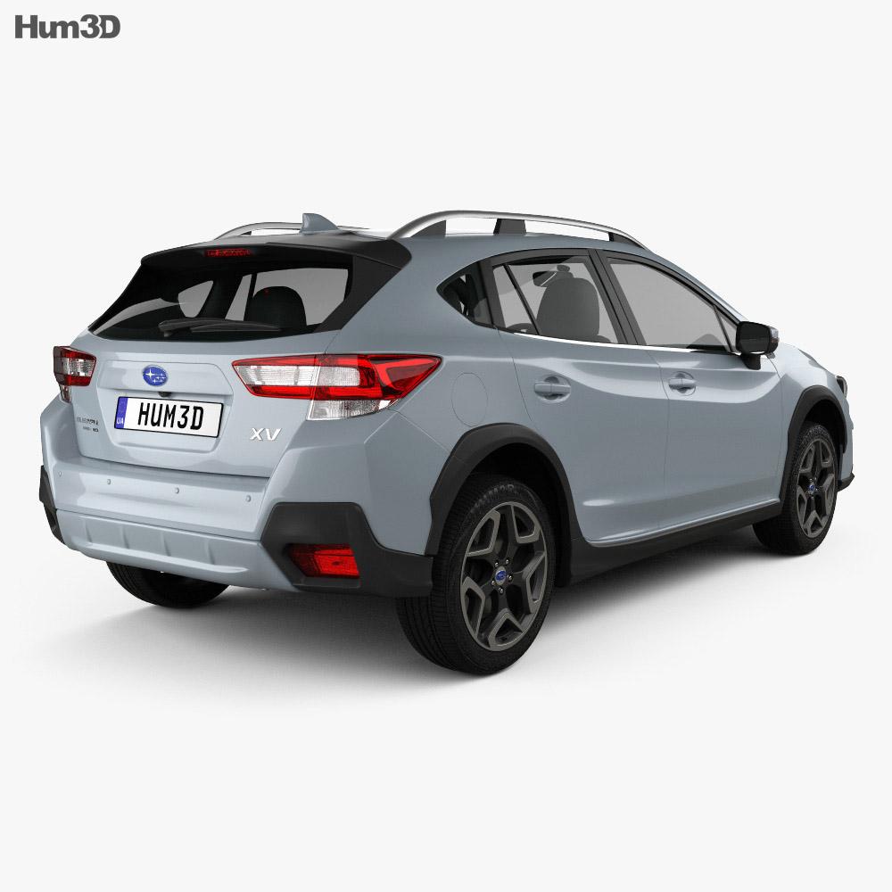 Subaru XV 2019 3d model