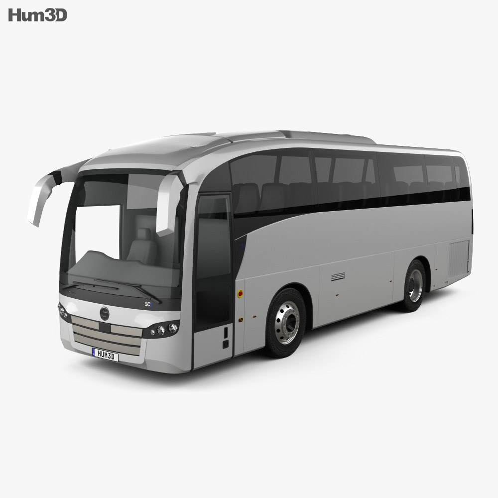 Sunsundegui SC5 Bus 2015 3d model