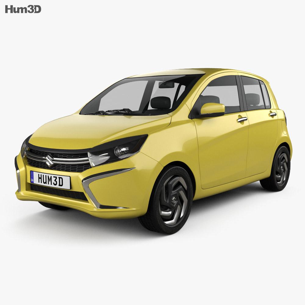 Suzuki A:Wind 2014 3d model