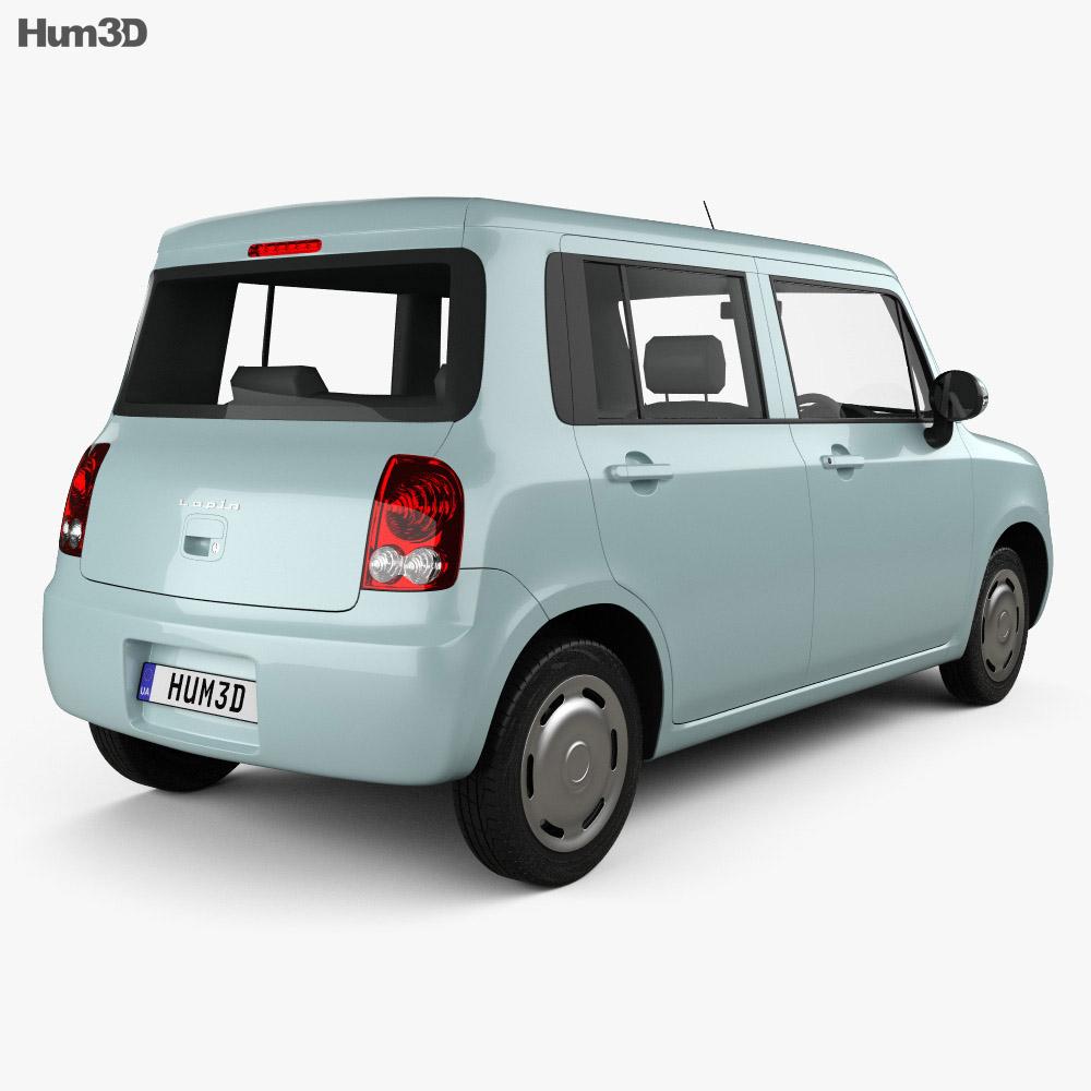 Suzuki Alto Lapin 2008 3d model