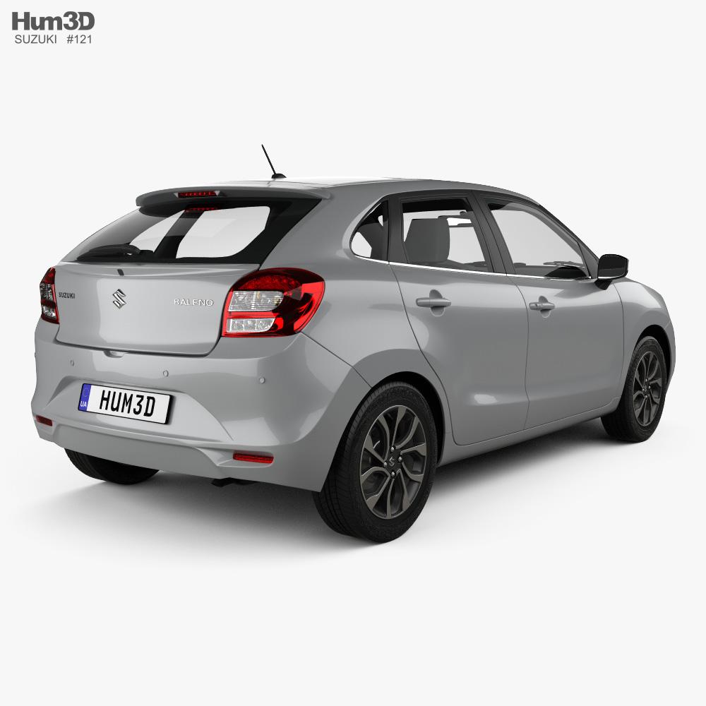Suzuki Baleno 2019 3d model