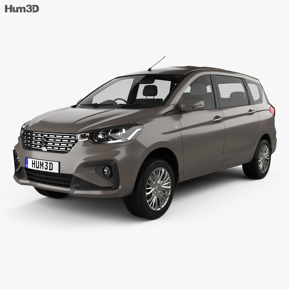 Suzuki Ertiga GX 2018 3D model